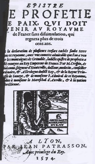 Epître 1574